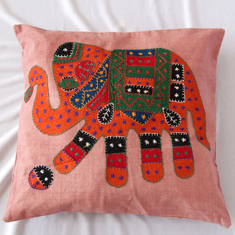 Patch Worked Cushion Cover