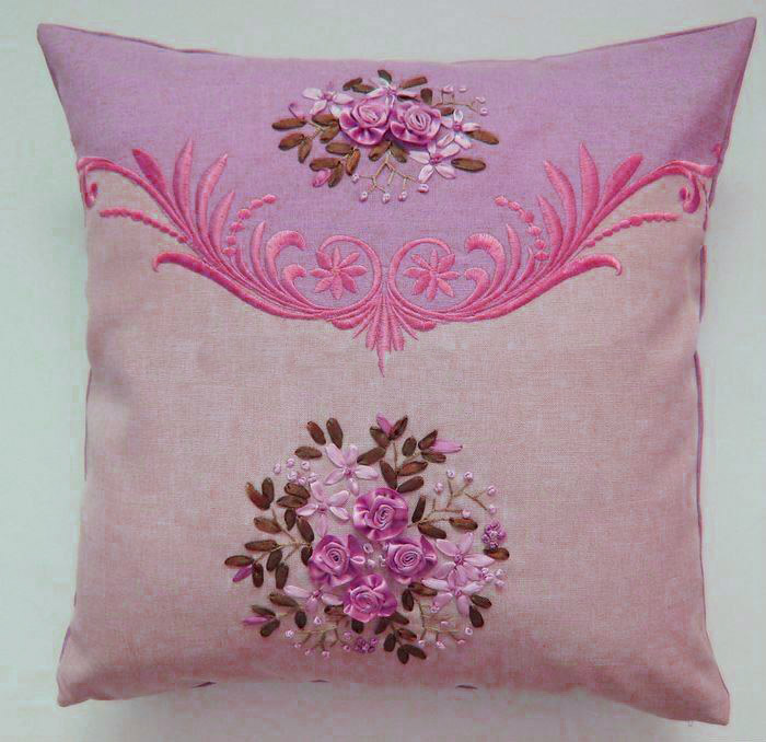 Hand Embroidery Cushion
