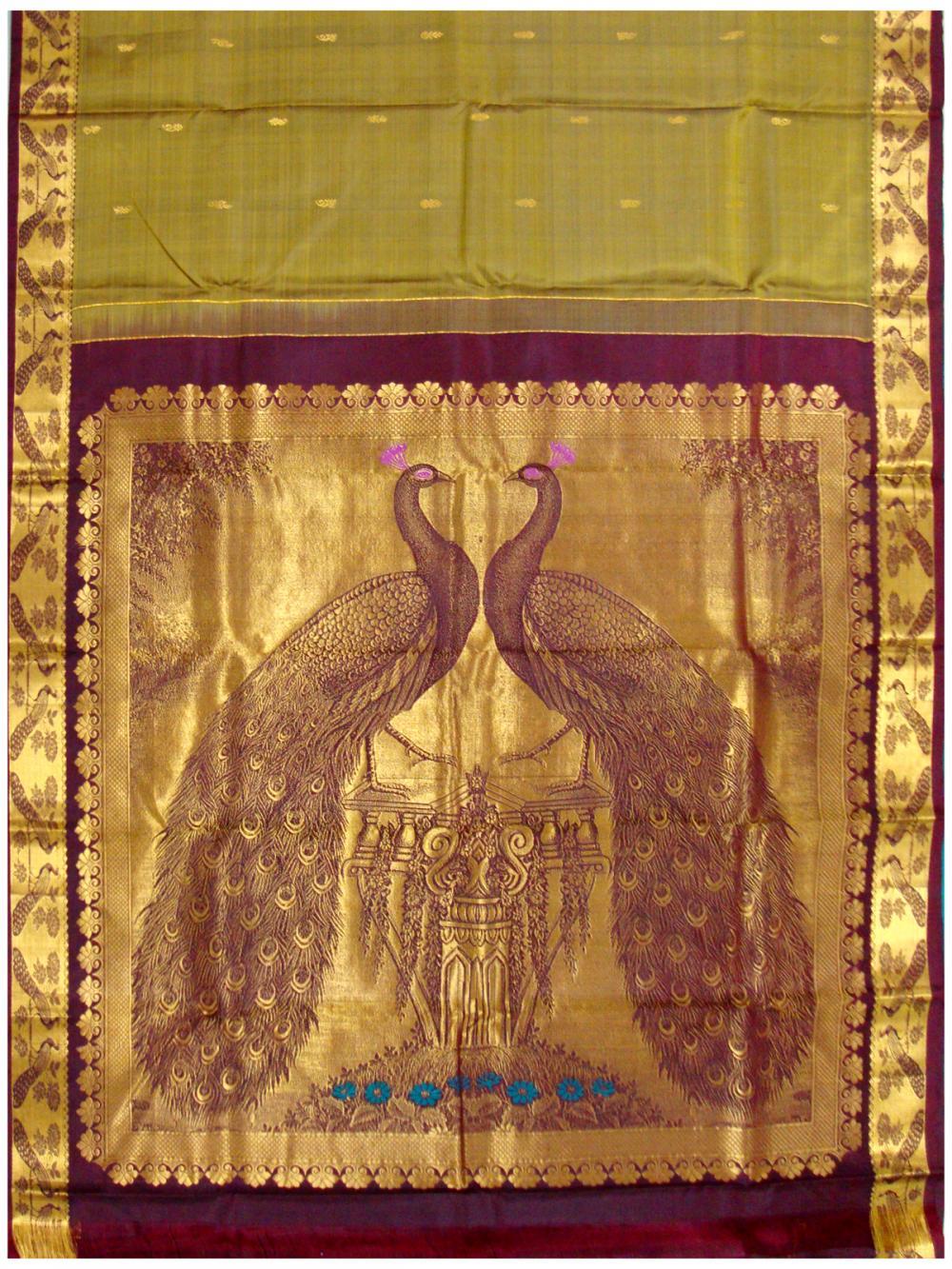 16a070d3c4 Banarasi Saree, Banarasi Silk Sarees, Handloom Silk Saree ...